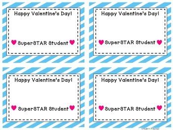 FREE Printable Teacher Valentine