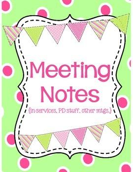 Printable Teacher's Binder WITH Sub Plans!