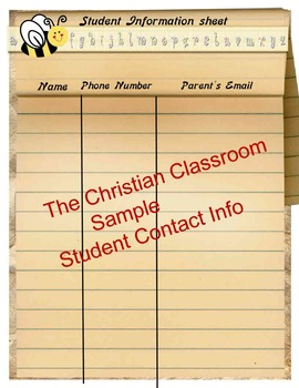 Printable Teachers Record Book and Other Teacher Forms
