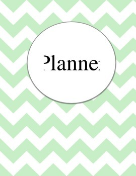 Printable Teaching Organizer and Planner