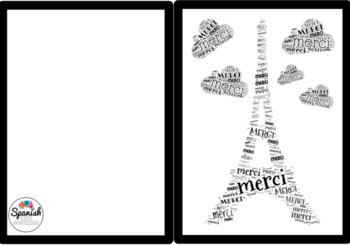 printable thank you notes for world language teachers tpt