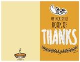 Printable Thanksgiving Booklet to Teach Gratitude