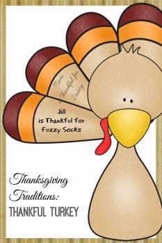 Printable Thanksgiving Tradition- Thankful Turkey