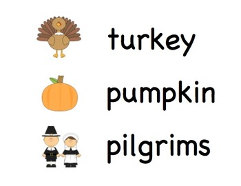"Printable Thanksgiving Vocabulary Words (with ""Native Americans"" not ""Indians"")"