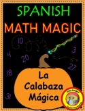 The Magic Pumpkin - Autumn Spanish number activity