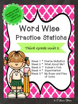 Printable Third Grade Word Work Stations for Reading Street