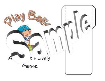 Printable Three Family Addition File Folder Game