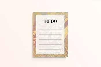 Printable To Do List - Liquid Gold