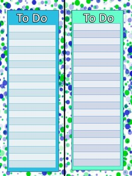 Printable To Do Lists - Keep Organized