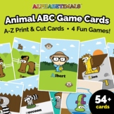 Printable Toddler & Preschool ABC Learning Card Game - Alp