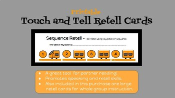 Printable Touch and Tell Retell Cards