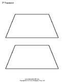Printable Trapezoid and Parallelogram