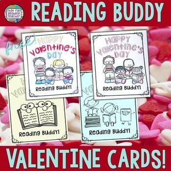 Reading Buddies: Free Valentine Cards