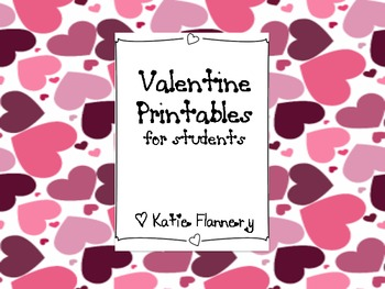 photo regarding Printable Valentine Card for Teacher known as Printable Valentine Playing cards for academics