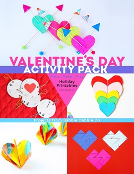 Printable Valentine's Day Activity Pack
