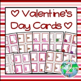 Valentine's Day Printable Cards for the Classroom