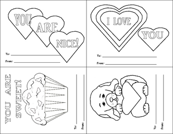 Printable Valentines Cards and Valentines Crown
