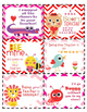 Editable Valentines Cards for Students from Teacher