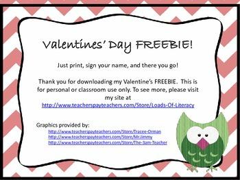 Printable Valentine's Day Cards FREEBIE