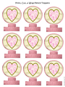 Printable Valentine's Gifts for Your Class
