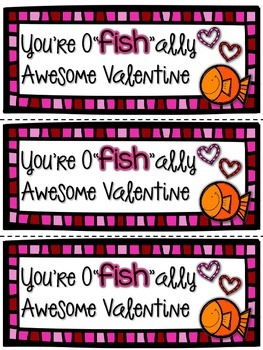 Printable Valentines and Treat Toppers