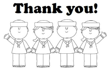 """Printable Veterans Day """"Thank You"""" Cards"""