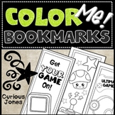 Bookmarks to Color: Video Gamers