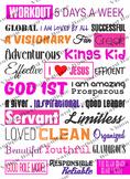 Printable Vision Sheet spiritual growth motivation spiritual goals life