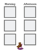 Printable Visual Schedule Boards for Home