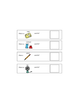 Printable Vocabulary Functions
