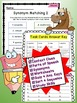 Printable Vocabulary Test Prep Context Clues and Reading P