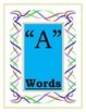 Printable Vowel Flash Cards