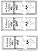 Bookmarks For Students to Color : Weather