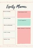 Printable Weekly Equity Planner
