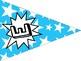 Welcome Banner FREEBIE in Comic Book Theme