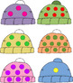 Printable Winter Games Colors, Shapes, Numbers, Alphabet, Sight Words, Etc