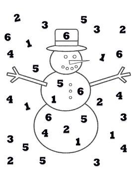Printable Winter Math Activities