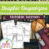 Women's History Month Activities Notable Women of History Graphic Organizers