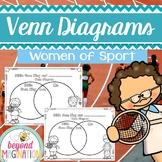 Women's History Month Activities Women of Sports Venn Diagrams