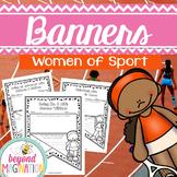 Women's History Month Activities Women of Sport Classroom Banners