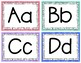 Printable Word Wall Header / Alphabet Letters / Flash Cards