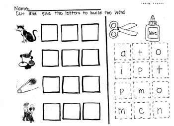 Printable Word Work