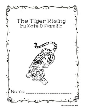 Printable Workbook:  The Tiger Rising