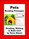 Reading Comprehension Passages and Questions Pets Theme