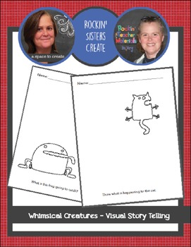 Creative Drawing activities - Whimsical Creatures - Creative lesson
