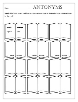 Printable Worksheets to use with any Book