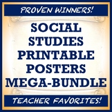 Printable World Geography & Social Studies Posters - ULTRA
