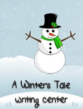 Printable Writing Center - A Winter's Tale Story Starter F