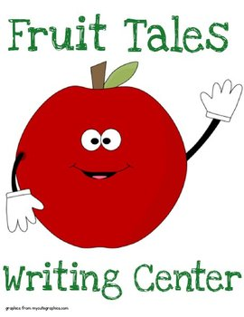 Printable Writing Center - Fruit Tales Story Starter File Folder Game