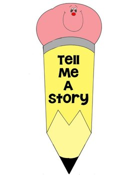 Printable Writing Center - Tell Me A Story - Story Starter File Folder Game
